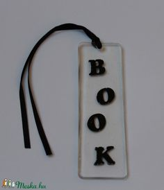 Könyvjelző BOOK (tundike1224) - Meska.hu Resin