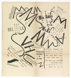 Futurist typography, 1919  Back to the Futurists | Smithsonian Cooper-Hewitt, National Design Museum in New York