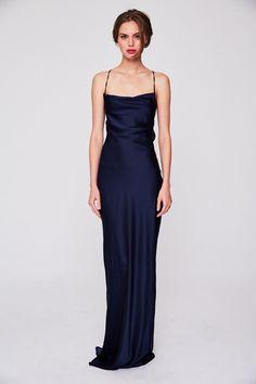 Prom Dresses Gatsby, Dance Dresses, Satin Dresses, Elegant Dresses, Pretty Dresses, Formal Dresses, Minimalist Gown, Minimalist Dresses, Vintage Hollywood Dresses