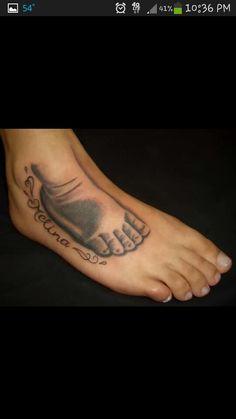 Ideas Children Tattoos For Moms Boys Sons For 2019 Baby Feet Tattoos, Baby Name Tattoos, Boy Tattoos, Dream Tattoos, Couple Tattoos, Future Tattoos, Body Art Tattoos, Hand Tattoos, Tattoo For Son