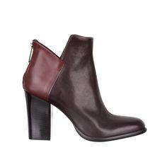 burgundy boots - fiorifrancesi