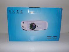 720P Mini LED Home Theater Projector Multimedia HDMI/AV/USB/VGA/SD for DVD PC #Generic