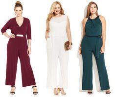 Shapely Chic Sheri - Plus Size Alternatives to Holiday Dresses #plussizejumpsuits