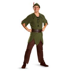 Chicago Costume - Walt Disney's Peter Pan Adult Costume, $39.99 (https://www.chicagocostume.com/walt-disneys-peter-pan-adult-costume/)