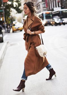 There's nothing more timeless than a camel coat.