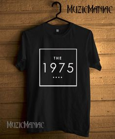Hot The 1975 Band Shirt The 1975 T-shirt Logo Printed Black And White Unisex Size - NK2