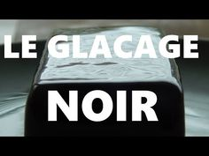 Comment faire un Glacage noir miroir - YouTube Flip Clock, Food And Drink, Deco, Rose, Black Frosting, Birthday, Recipes, Kitchens, Roses