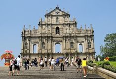 The Ruins of St. Paul's: dedicated to Saint Paul the Apostle. Today, the ruins are one of Macau's most famous landmarks. In they were officially enlisted as part of the UNESCO World Heritage Site Historic Centre of Macau. Macau Travel, Paris Travel, Thailand Travel, Travel Advice, Travel Tips, Travel Destinations, Vietnam, Famous Landmarks, Bhutan