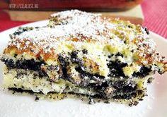 Mákos lasagne Lasagne Recipes, Cake Recipes, Smoothie Fruit, Good Food, Yummy Food, Hungarian Recipes, Hungarian Food, Sweet And Salty, Vegan Desserts