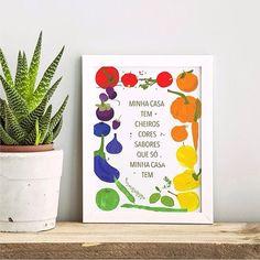 """Porque não tem lugar no mundo igual a casa da gente!  Quem concorda?  - O pôster """"Minhas Cores"""" é uma homenagem a todos os lares que são construídos com amor cuidado e muito capricho!  - Vista a sua casa para 2017. #ColeçãoGordelíciasNCDJ - #nacasadajoana #abaixoasparedesvazias #pôster #posters #quadros #enquadrados #design #decoração #decor #interiordesign #pinterest #meunacasadajoana #casa #lar"""