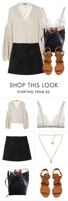 """Untitled #6903"" by laurenmboot ❤ liked on Polyvore featuring Hellessy, Lonely, Monki and Mansur Gavriel"
