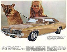 Original Ad - 1970 Cougar