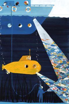 Valerio Vidali - underwater illustration