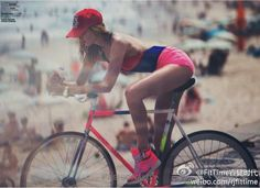 bicycle can be sexy too.... #fitness #girl #health #summer