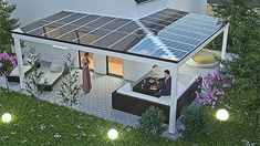 Going solar energy is all the rage these days with huge monetary incentives fueling the fire. Here's a little trick to write off an additional part of your solar energy system purchase. Panel Solar Casa, Best Solar Panels, Solar Panel Installation, Solar Energy Panels, Solar Panels On Roof, Solar Panels For Home, Patio Roof, Pergola Patio, Pergola Kits