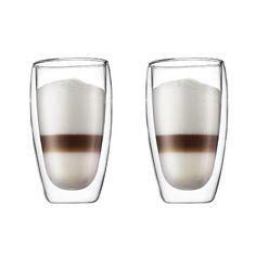 Bodum Pavina Dubbelwandig glas om nu es lekker te gaan experimenteren met koffierecepten.