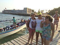 Compartir con la familia no tiene precio... Boca chica Cartagena de indias Colombia
