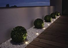 NOXLITE LED GARDEN SPOT Mini Gartenkette Komplettset mit 9 Spots