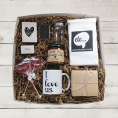 Valentine Gift Set Valentine Gift Box Valentine by DefineDesignEtc