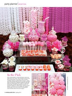 Sugar Rush: What goes into putting together a creative candy table? A top West Coast event designer shares his confection perfection - Moments by Wayne is featured in the latest issue of @Barbara Parr Guide Magazine with Candybar Couture. http://momentsbywayne.com/files/press_stories/files/62/original_Bridal_Guide_-_Sugar_Rush.pdf