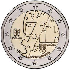 moneda conmemorativa 2 euros Portugal 2012., Tienda Numismatica y Filatelia Lopez, compra venta de monedas oro y plata, sellos españa, accesorios Leuchtturm
