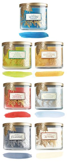 Build a room around our #WorldsBestCandles. #welovefall