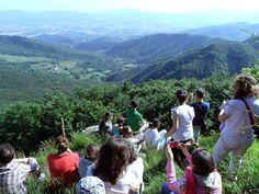 Il monte di Castel Guerrino e i due mari