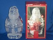 Gorham Crystal Holiday Traditions Cookie Jar