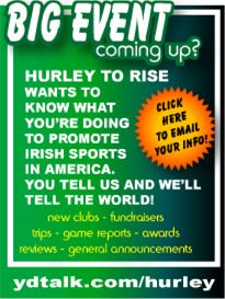 Now is the time to introduce hurling to the world!