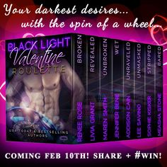 FEELING LUCKY? Dive into Black Light: Valentine Roulette & Spin to #WIN a Kindle Fire w/ Case!