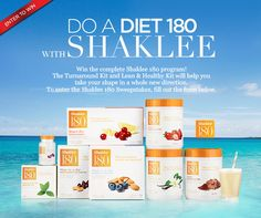 *This sweepstakes has ended* Enter to #win a complete #Shaklee180 program!
