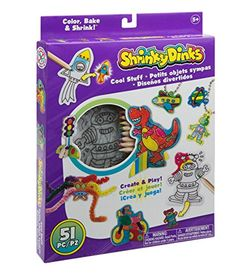 New Shrinky Dinks Cool Stuff Activity Set, 21 designs, key chains, magnets, pencils - furniture warm coat Save On Crafts, Crafts To Make, Fun Crafts, Crafts For Kids, Cool Stuff, Fun Games For Kids, Art For Kids, Kid Games, Craft Kits