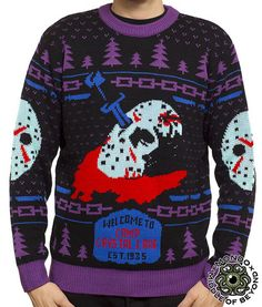 Friday the 13th Glow Variant Sweater Feos 06296b063df6