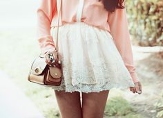 pretty lace skirt