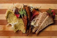 "Deconstructed Ruben sandwich with carrots by Richard ""Rich"" Landau"