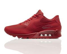 new style 246d8 c252c Air Max 90 Hyperfuse Independence Day All Red Sneakers, Sneakers Nike, Nike  Heels,