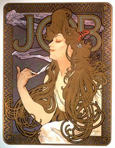Job. Alphonse Mucha