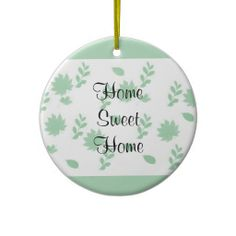 Green Leaves Ornament ....... Save that special date with this beautiful ornament. Add Names and Date to the back.... http://www.zazzle.com/green_leaves-175503737268414117?rf=238631258595245556
