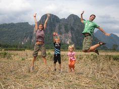 http://www.mochilerostv.com //// Voltalmon, 550 días de vuelta al mundo en familia.