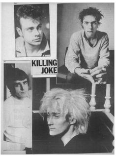 Killing Joke inspired a lot of my favorite industrial/rock bands.