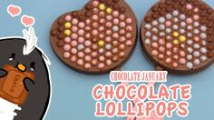 Pengulin demonstrates a new DIY candy kit from Japan - this time making lolli-pops with your own designs!