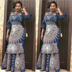 Online Hub For Fashion Beauty And Health: Creative And Stylish Ankara Gown For The Cuties
