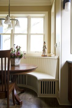window seat kitchen table - Google Search