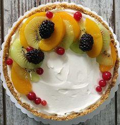 Cheesecake allo yogurt e ricotta senza cottura