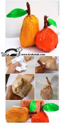 PAPER-BAG- pumpkins