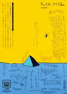 Keisuke Nagatomo – Poster for Exhibition, 1983 Gig Poster, Typography Poster, Typography Design, Japan Design, Web Design, Book Design, Print Design, Graphic Design Posters, Graphic Design Illustration