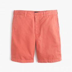J.Crew Stanton Shorts in Rustic Orange