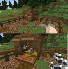 Chicken Coop Ideas 717901996837766149 - Made a more realistic approach on a chicken coop. Any suggestions (especially for a nice roof) ? : Minecraft Source by captainkoper Art Minecraft, Capas Minecraft, Cute Minecraft Houses, Minecraft Houses Survival, Minecraft Castle, Minecraft Houses Blueprints, Minecraft Plans, Minecraft House Designs, Amazing Minecraft