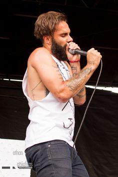 Jason Aalon Butler of letlive Warped Tour 2013