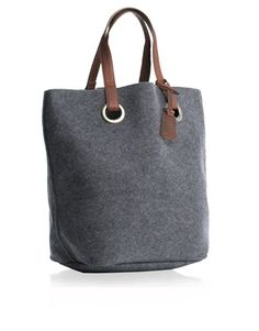 felt shopper bag with leather handles Sacs Tote Bags, Tote Purse, My Bags, Purses And Bags, Felt Purse, Felt Bags, Craft Bags, Fabric Bags, Handmade Bags